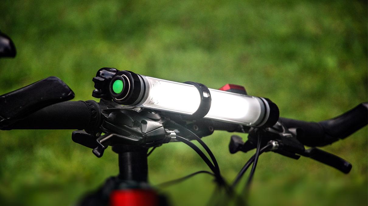 bike front light clip