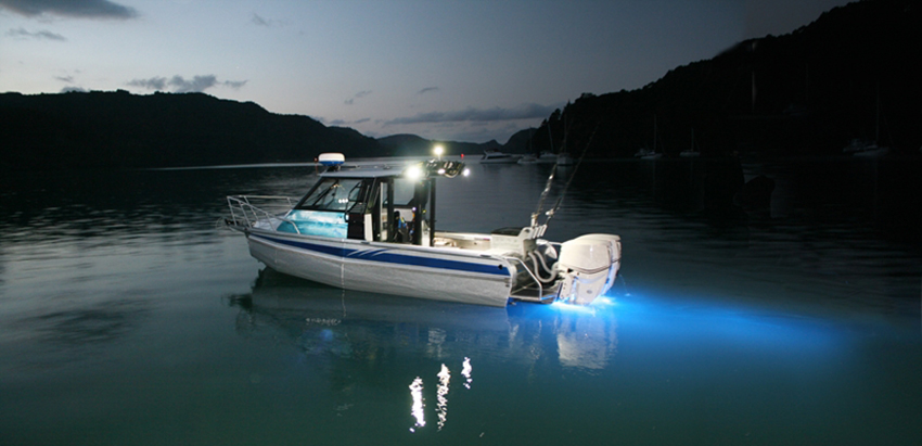led boat light