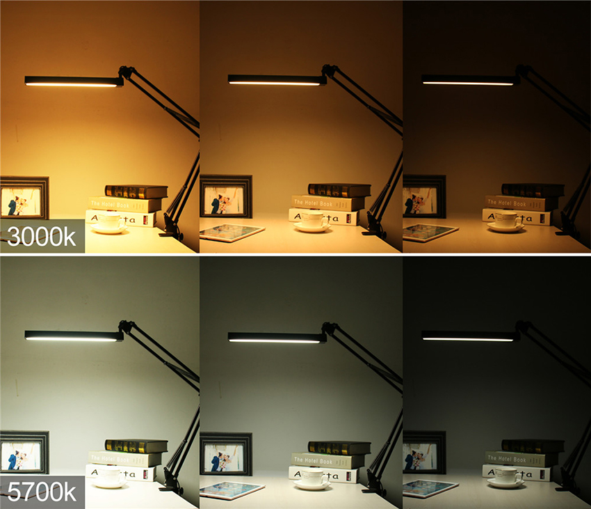 clamp led desk lamp