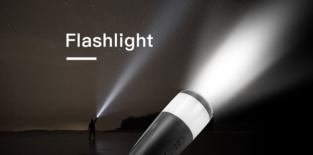 led camping flashlight