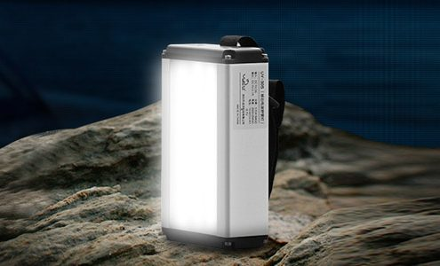 led outdoor solar camping lamp