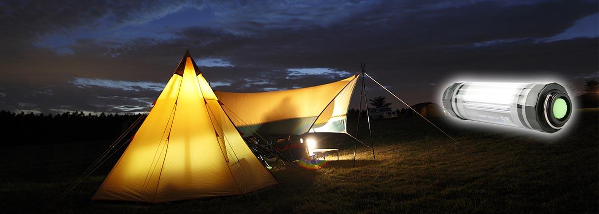waterproof camping lamp q7m application