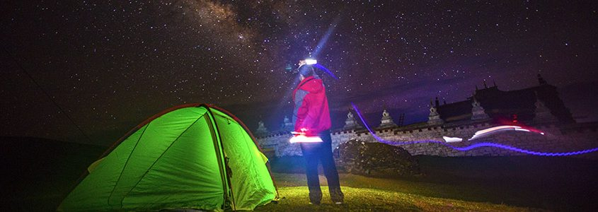 q7 led camping light