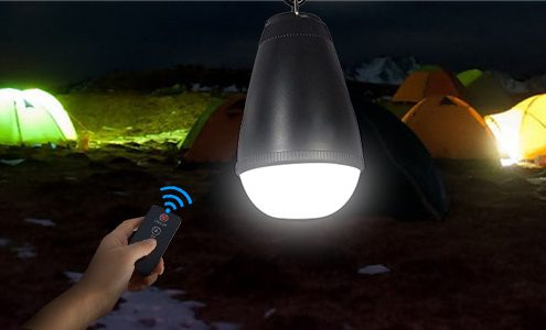 waterproof led camping bulb