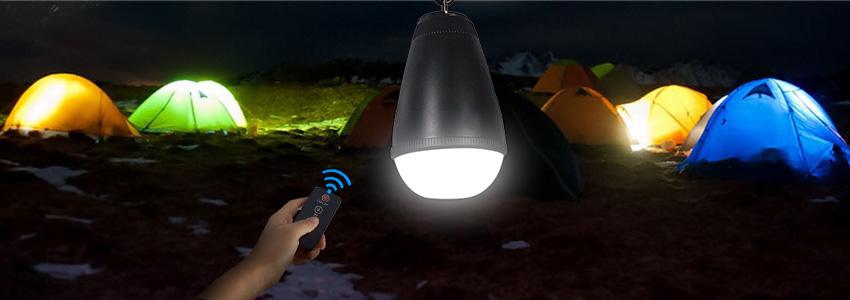 waterproof led camping bulb