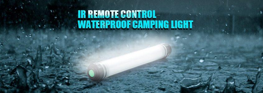 IR Remote Control Waterproof Camping Light
