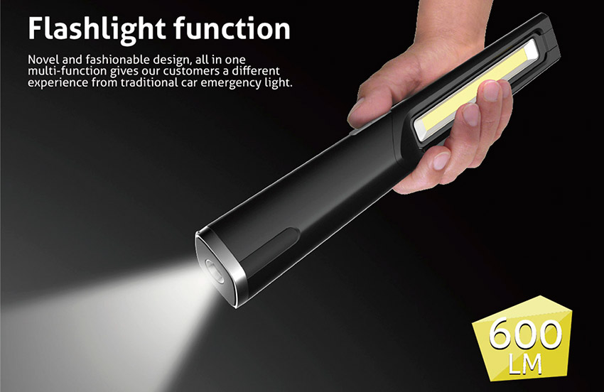 new product launch - multi-purpose car emergency light 2