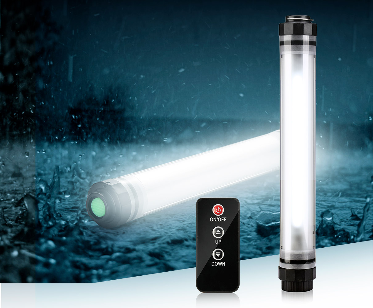 Remote Control Waterproof Led Light Q7ir Uyled