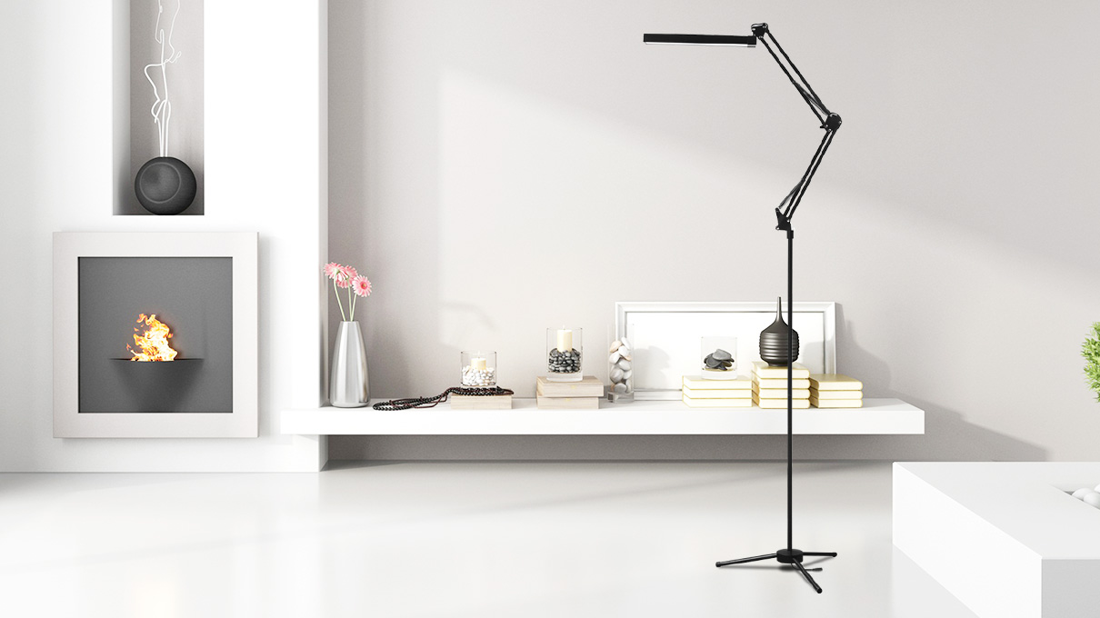 mechanical led floor lamp