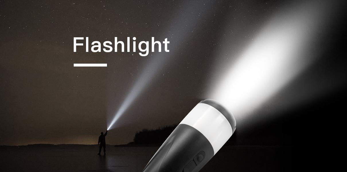 led camping flashlight