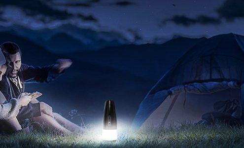 2-in-1 camping lantern